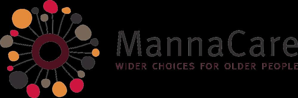 MannaCare logo and tag line no background